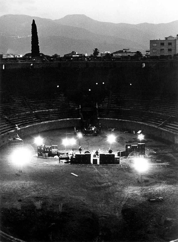 1972 Pink Floyd Live at Pompeii Panorama